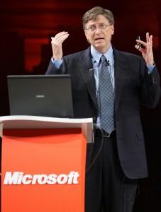 Bill Gates als reichster Mann der Welt dank Microsoft Aktien
