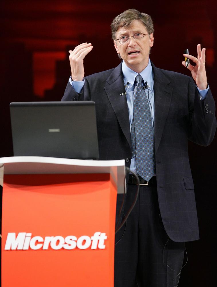 Bill Gates Verdienst