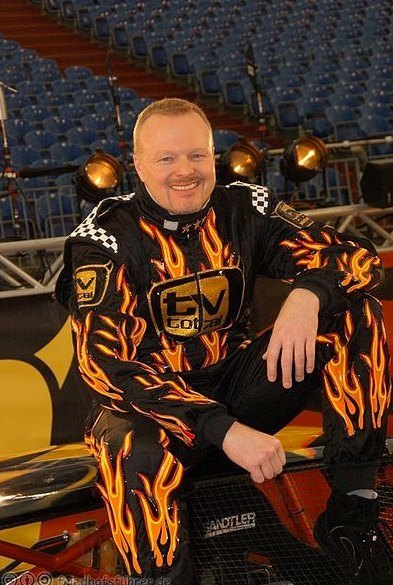 Stefan Raab beim Stock Car