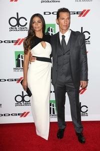 Matthew McConaughey mit seiner Frau