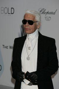 Karl Lagerfeld Modedesigner