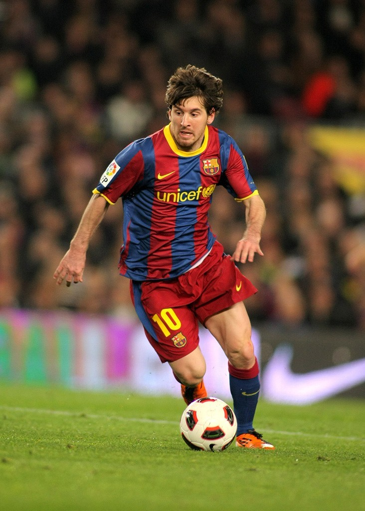 Lionel Messi Einkommen