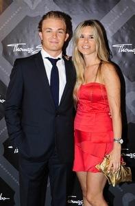 Nico Rosberg und Freundin Vivian Sibold