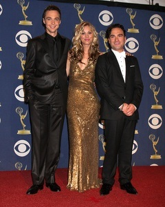Jim Parsons, Kaley Cuoco, Johnny Galecki Verdienst