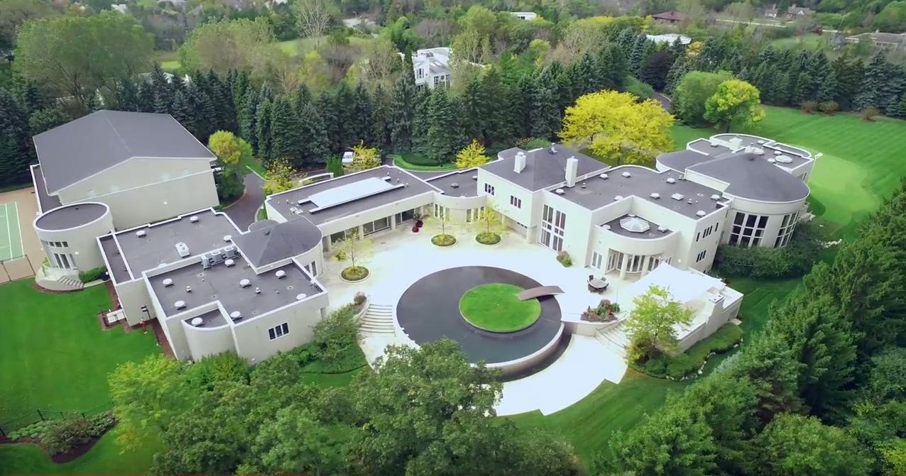 Die 14-Millionen Villa von Michael Jordan wird verkauft