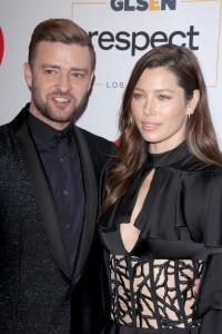 Justin Timberlake mit Jessica Biel