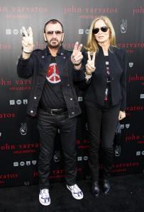 Ringo Starr mit Frau Barbara