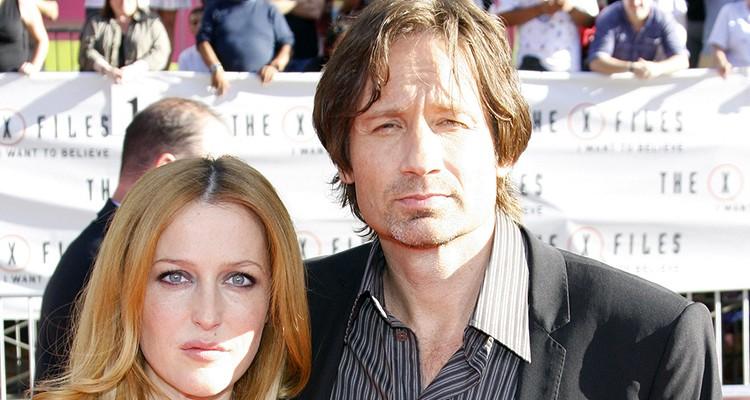 Akte X Darsteller David Duchovny und Gillian Anderson