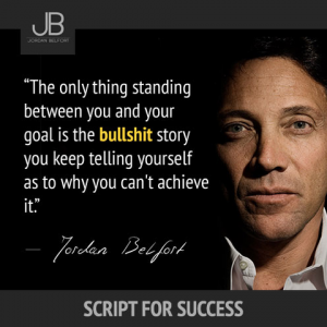 Jordan Belfort als Motivationstrainer
