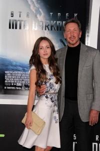 Larry Ellison mit Freundin Nikita Kahn