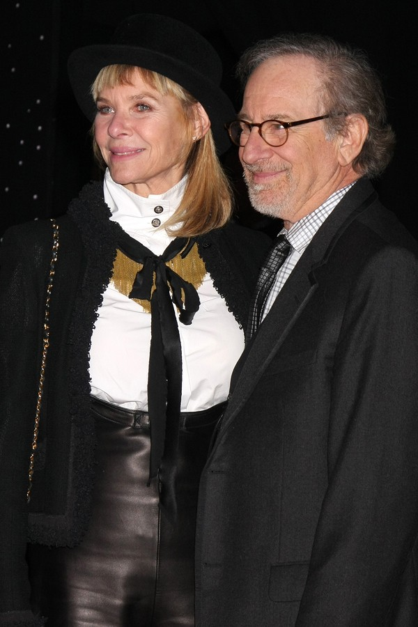 Kate Capshaw und Steven Spielberg