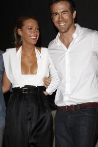 Ryan Reynolds mit Frau Blake Lively