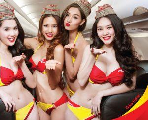 Vietjet Airline Bikini Girls