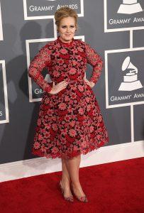 Die reiche Sängerin Adele