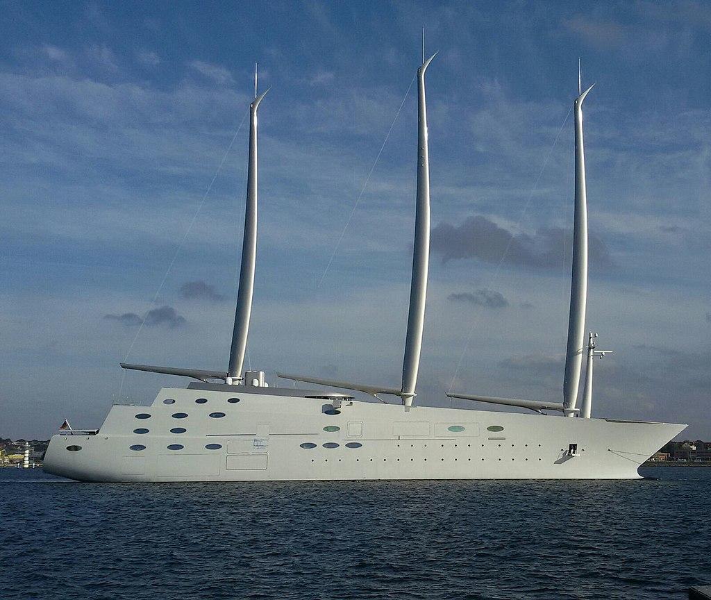 A - Die größte Segelyacht der Welt