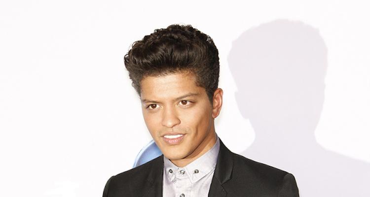 Das Einkommen von Bruno Mars