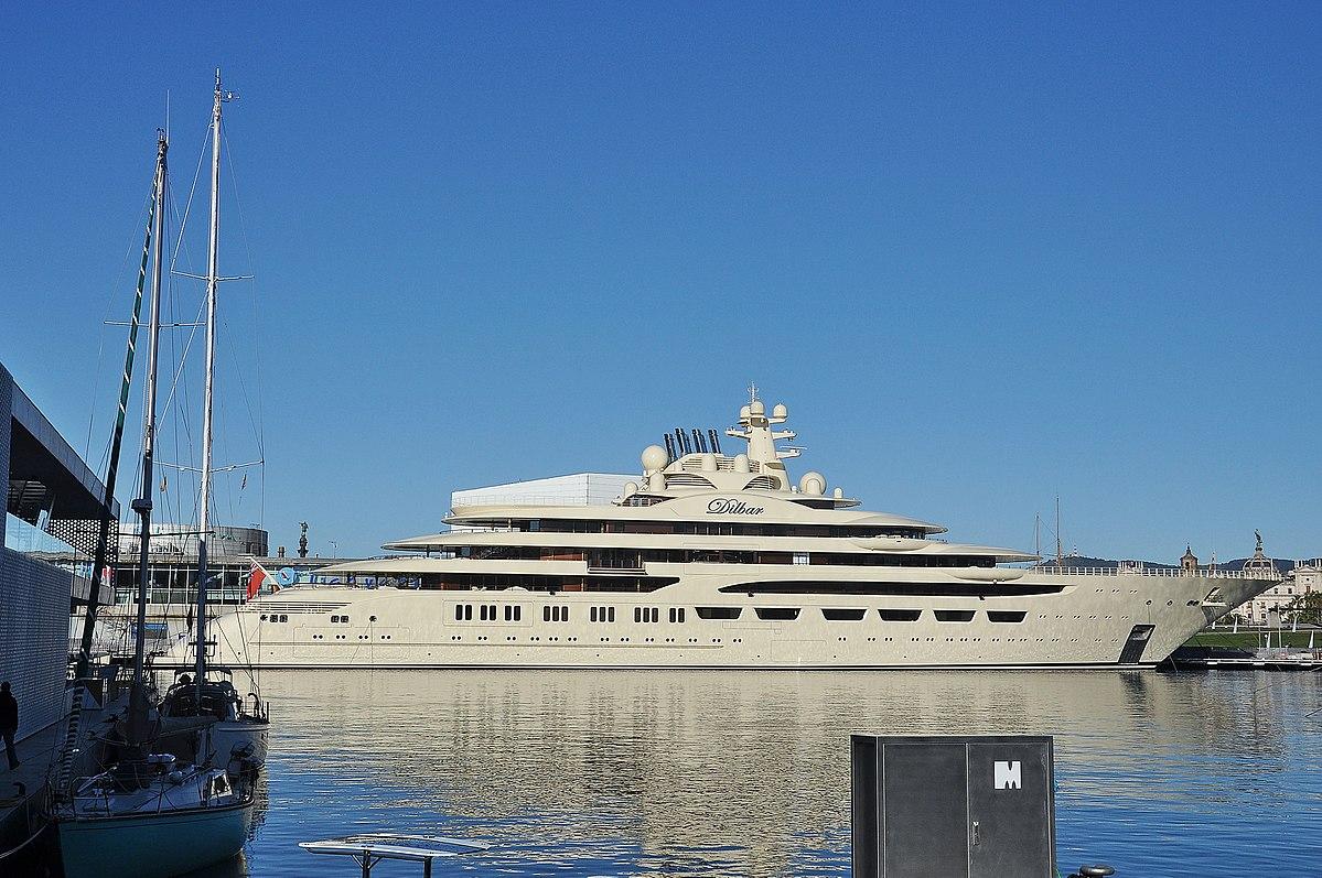 Dilbar Mega Yacht