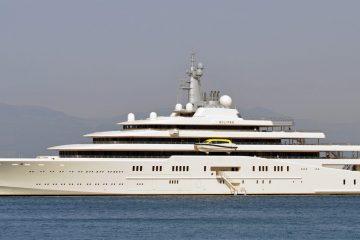 Eclipse Yacht von Roman Abramowitsch