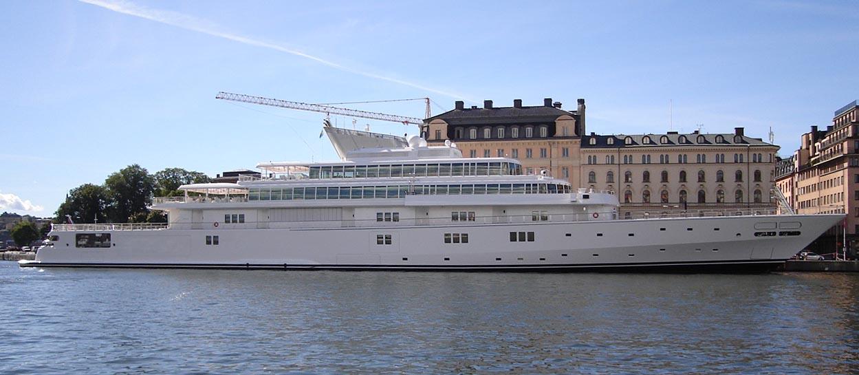 The Rising Sun Yacht