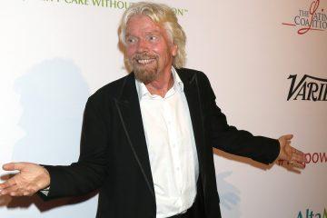 Das Vermögen von Richard Branson