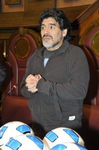 Einkommen von Diego Maradona