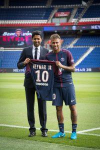 Nasser Al-Khelaifi und Neymar